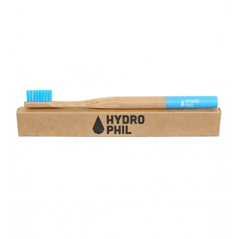 Bambus-Zahnbürste Hydrophil blau