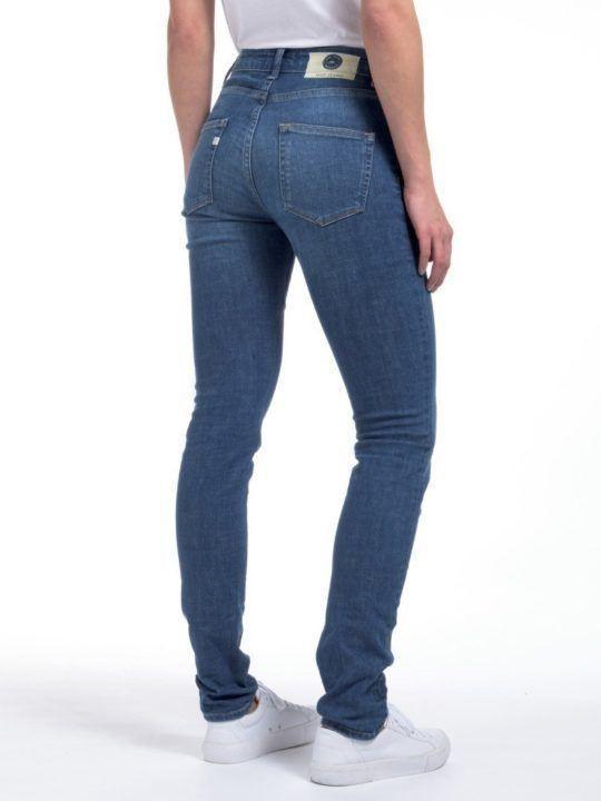 Damenjeans Mud Jeans Skinny Hazen pure blue kaufen