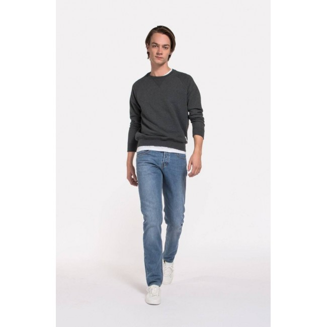 Herren-Jeans Mud Regular Dunn stone blue