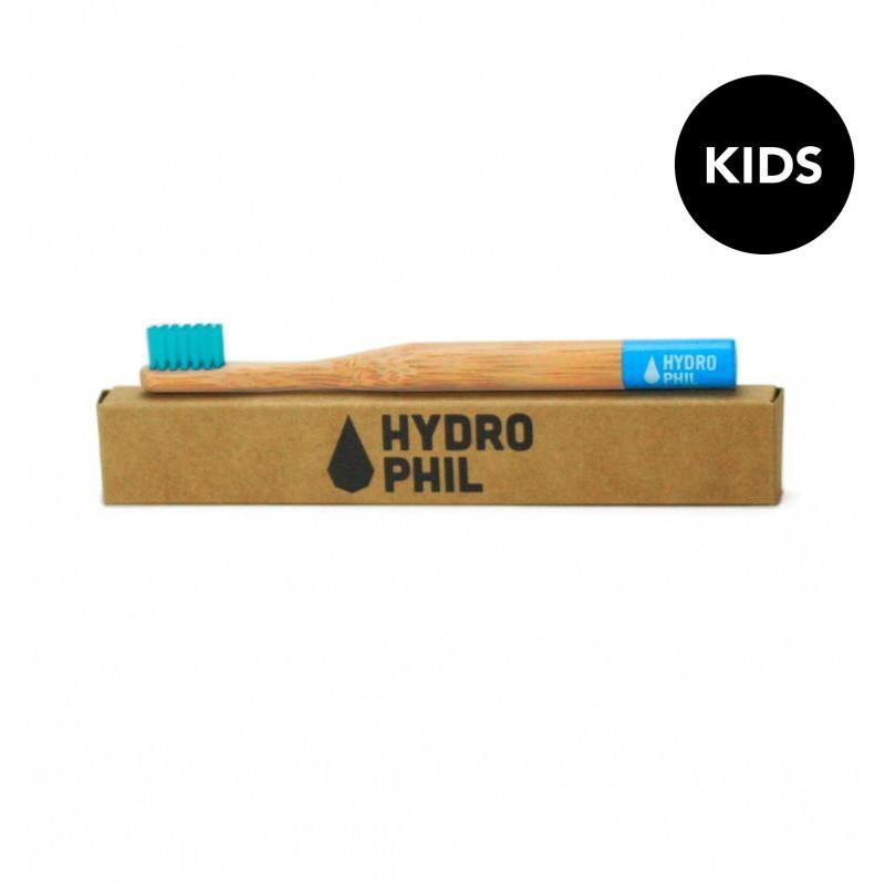 Image of Bambus-Kinderzahnbürste Hydrophil blau soft