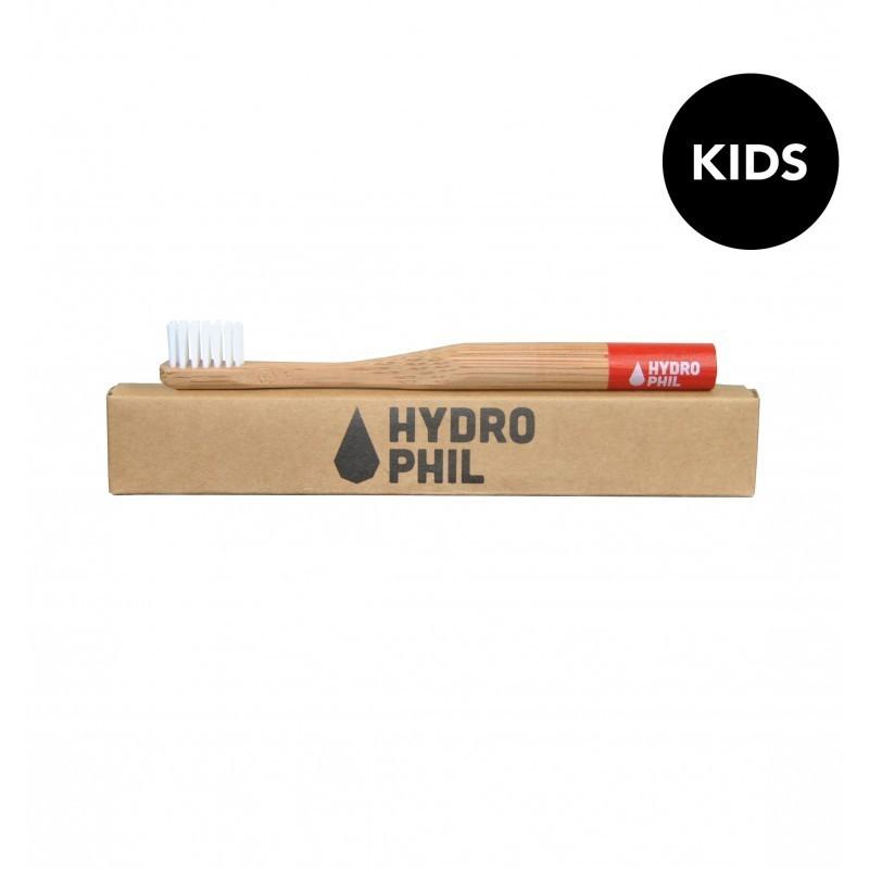 Bambus-Kinderzahnbürste Hydrophil blau soft