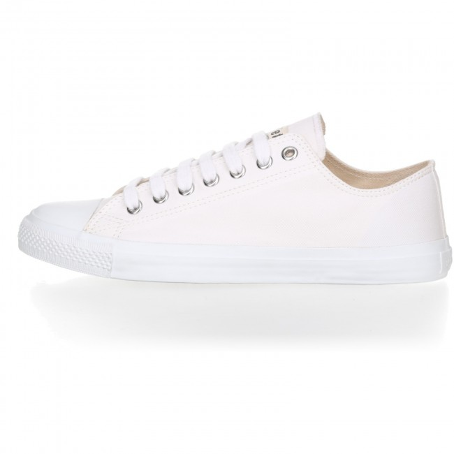 Fair Trainer  White Cap Lo Cut Collection 18 - Just White | Just White