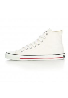 Fair Trainer White Cap Hi Cut Classic - Just White | Just White