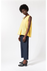 Top Fold Sleeveless Elsien Gringhuis yellow