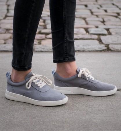Melawear Fairtrade Sneakers Damen grey
