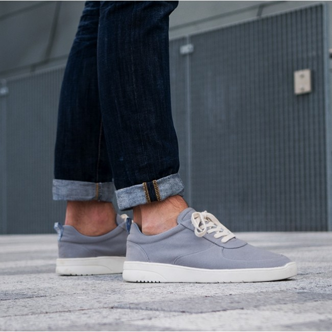 New York exquisiter Stil Vereinigte Staaten Melawear Fairtrade Sneakers Herren grey