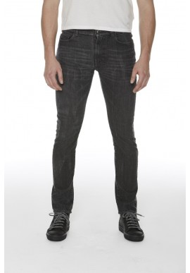 Jeans Wunderwerk Steve Slim High Flex black