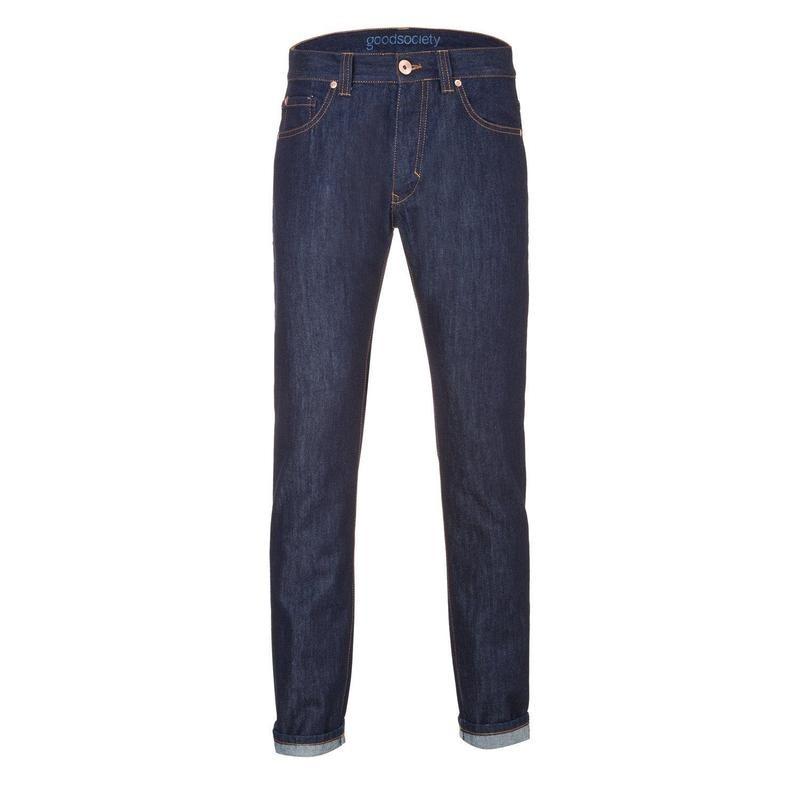 Herren-Jeans Goodsociety Slim Straight Raw One Wash