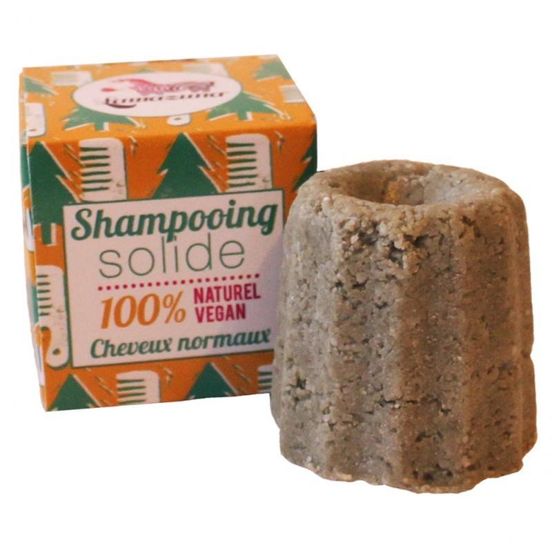 Lamazuna festes Shampoo für normales Haar - Weisstanne