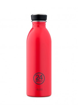 Trinkflasche 24Bottles 500ml Hot Red