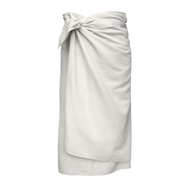 Handtuch The Organic Company Everyday Bath Towel to Wrap natural white