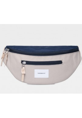 Hip Bag Sandqvist Aste Multi beige/blue
