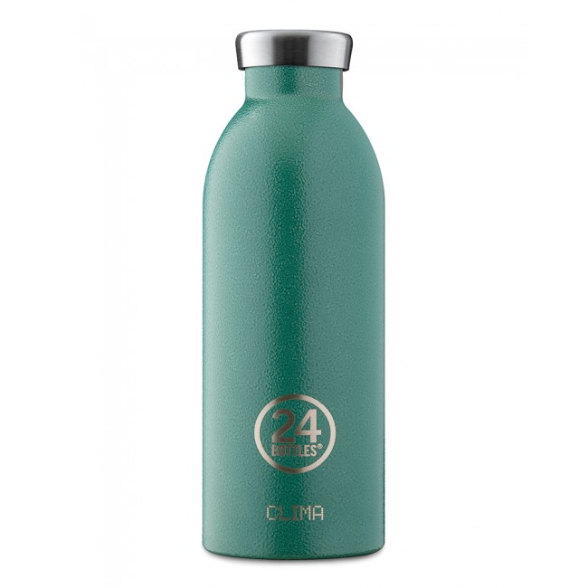 Thermosflasche 24Bottles Clima 850ml Rustic Moss Green