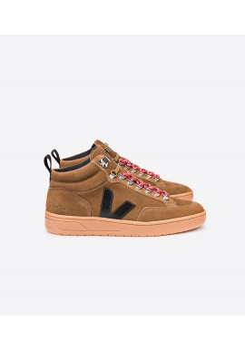 Veja Roraima Bastille Suede Brown Black Natural Sole
