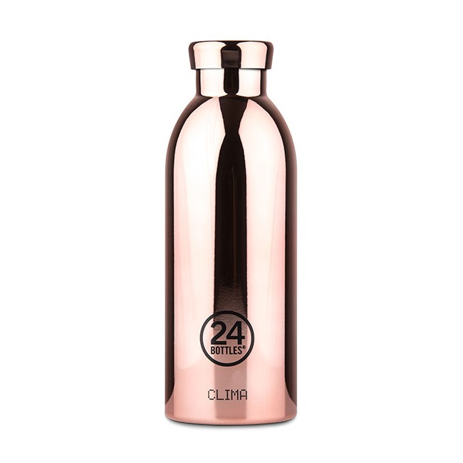 Thermosflasche 24Bottles Clima 500ml Rosé Gold