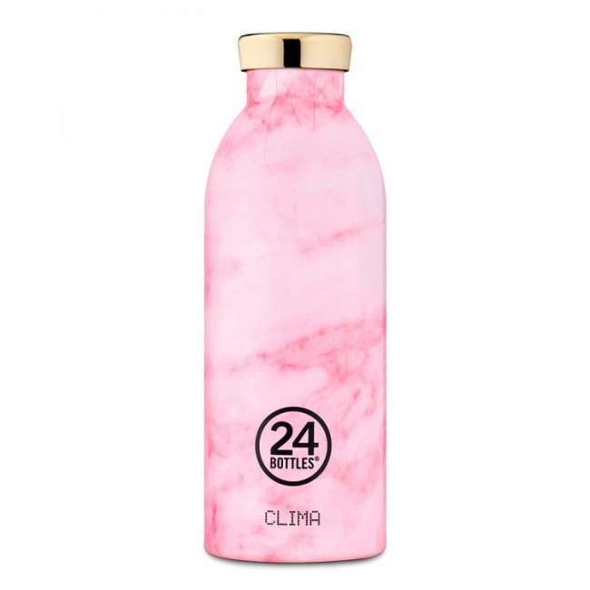 Image of Thermosflasche 24Bottles Clima 850ml Pink Marble