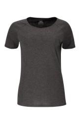 Damen Raglan T-Shirt ZRCL Basic onyx