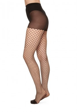 Swedish Stockings Rut Net Tights black