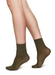 Swedish Stockings Judith Ankle Socks 2er-Pack khaki