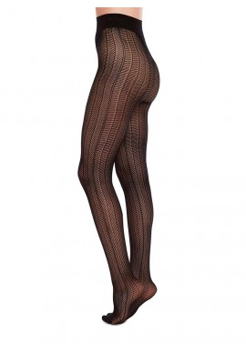 Swedish Stockings Astrid Fishnet Tights black