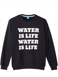 Viva con Agua Sweatshirt Water Is Life