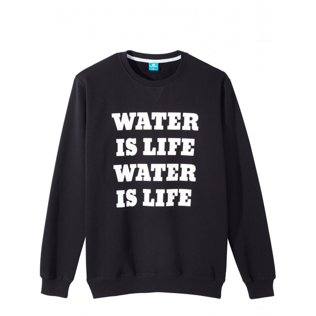 Viva con Agua Sweatshirt Water Is Life