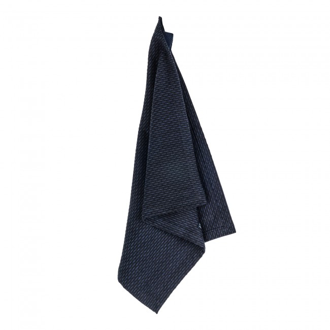 Waschlappen The Organic Company Kitchen and Wash Cloth dark blue