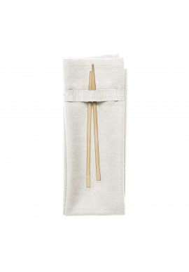 Stoffservietten The Organic Company Napkin natural white