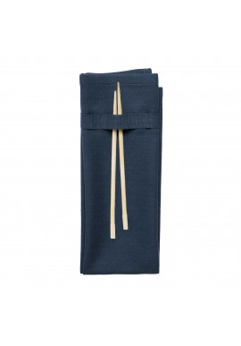 Stoffservietten The Organic Company Napkin dark blue