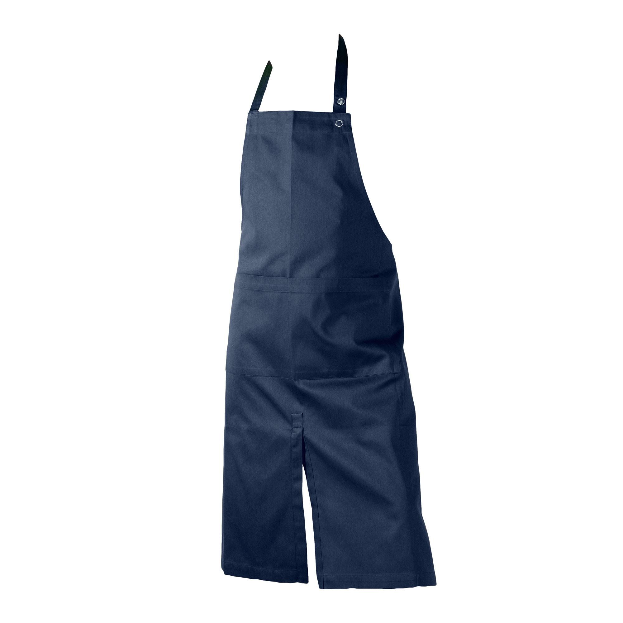 Kuchenschurze The Organic Company Apron With Pocket Dark Blue