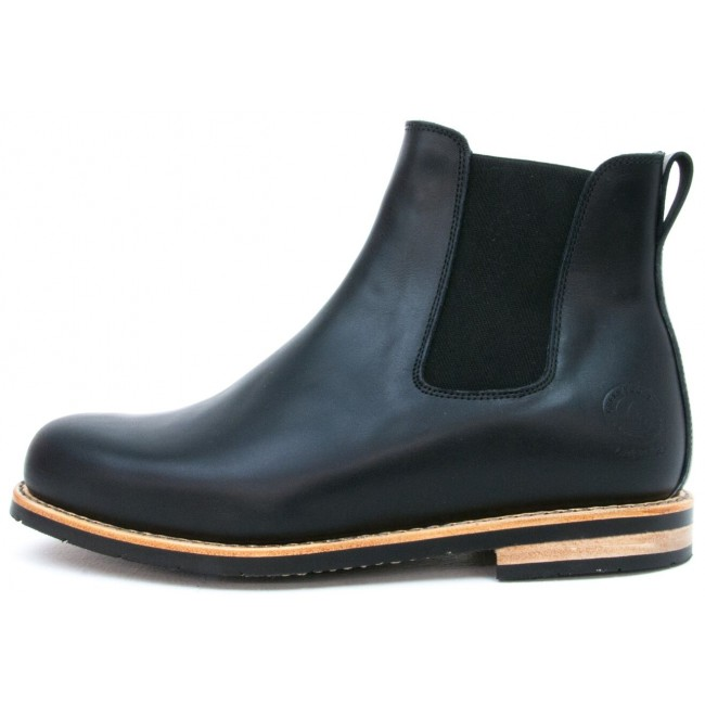 True Heritage Boots - Chelsea TH-04 Calfskin black