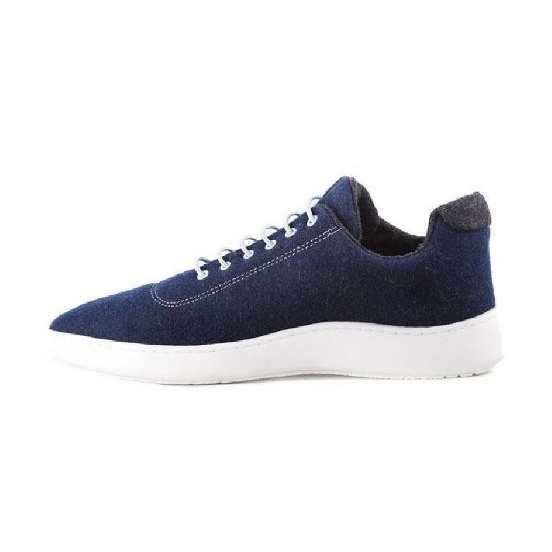 Woll-Sneakers Baabuk Urban Wooler sky blue