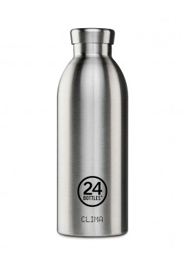 Thermosflasche 24Bottles Clima 500ml Steel