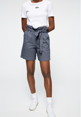 Shorts Armedangels Taabitha Chambray blue