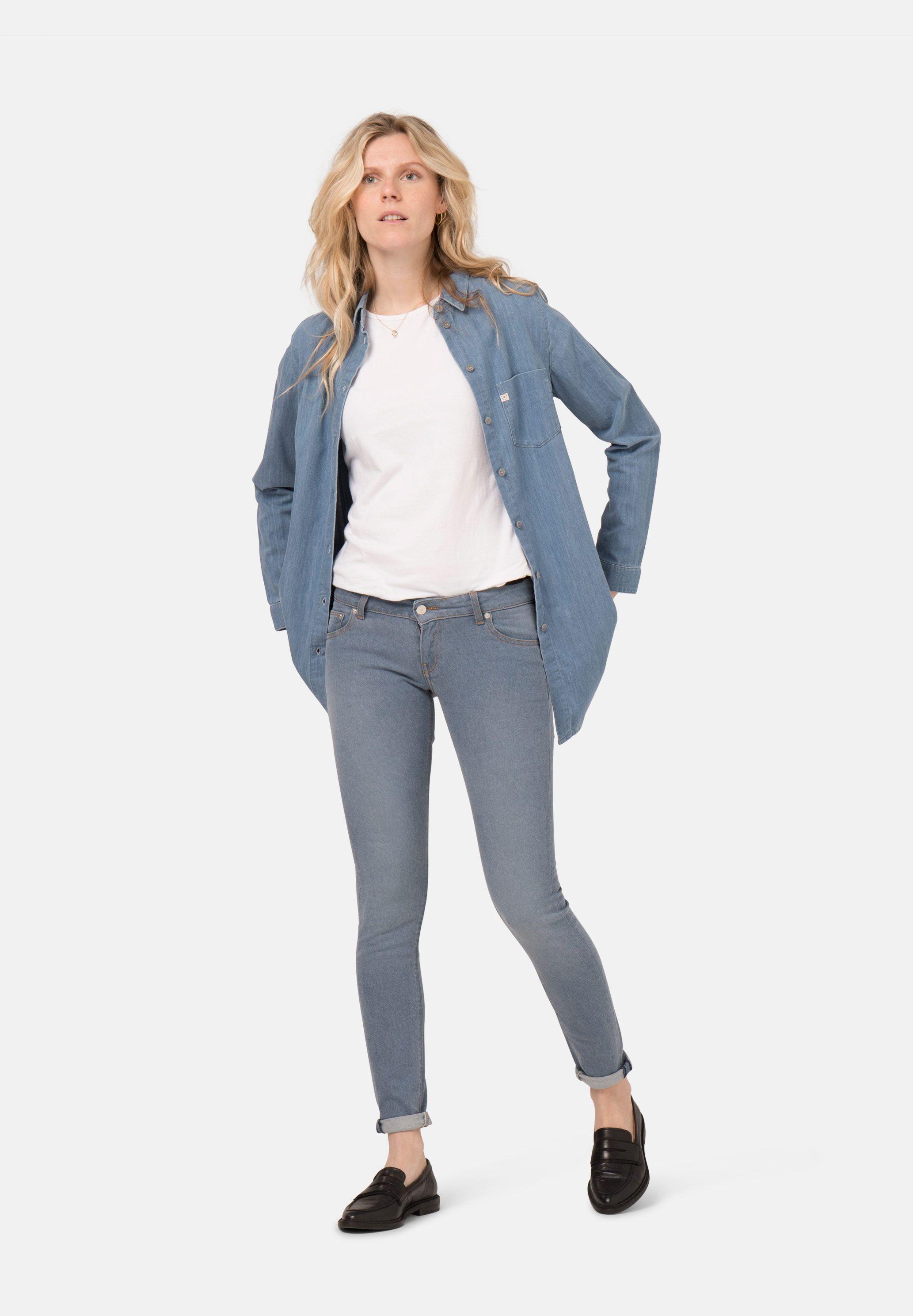 Damenjeans Mud Jeans Skinny Lilly O3 blue kaufen