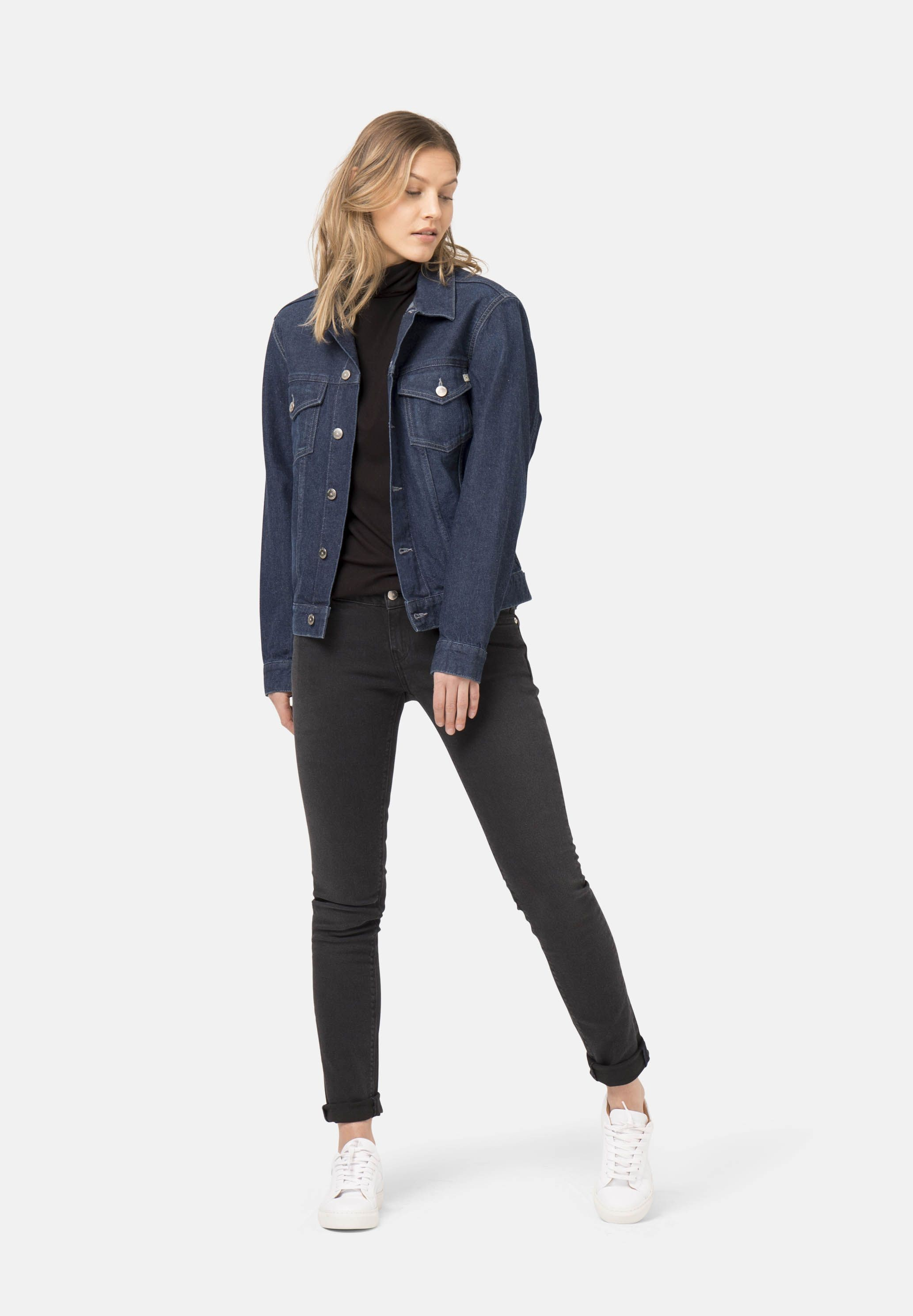 Damenjeans Mud Jeans Skinny Lilly stone black kaufen