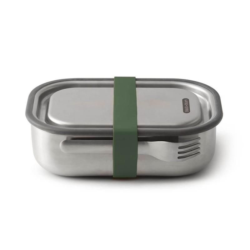 Edelstahl-Lunchbox Black+Blum orange