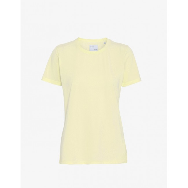 Damen-T-Shirt Colorful Standard soft yellow