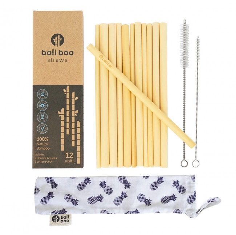Bambus-Strohhalme Baliboo Straws