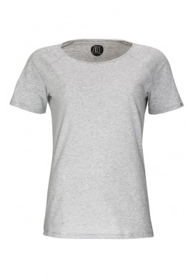 Damen T-Shirt ZRCL Basic silver shine