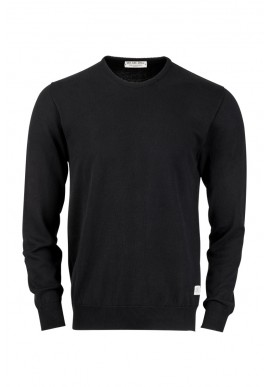 Knit Sweater ZRCL Round Neck black