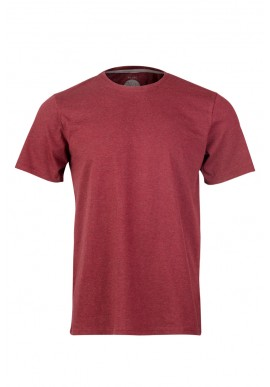 Herren-T-Shirt ZRCL Basic dark wine