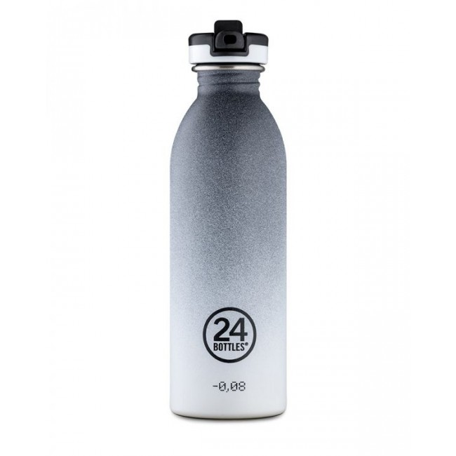 Trinkflasche 24Bottles 500ml Urban Tempo Grey