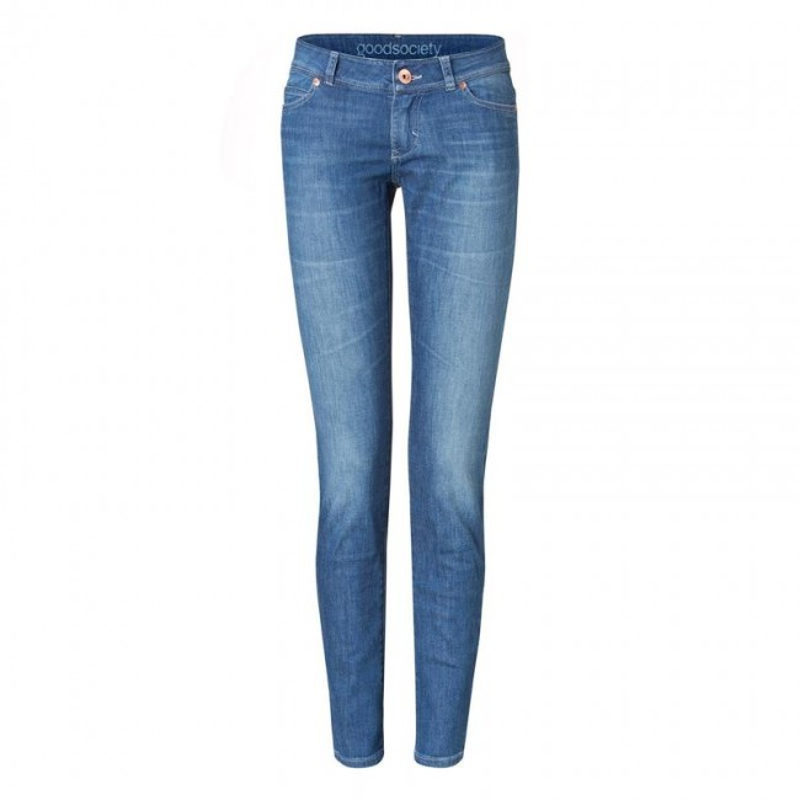 Damen-Jeans Goodsociety Slim Harrow