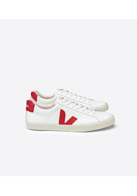 Veja Esplar Low Leather Extra White Pekin