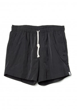Badehosen Neumühle Net-Shorts black coal