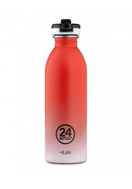Trinkflasche 24Bottles 500ml Coral Pulse