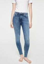 Damen-Jeans Armedangels Tillaa Cropped stone wash