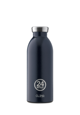 Thermosflasche 24Bottles Clima 500ml Rustic Deep Blue
