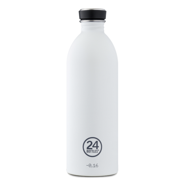 Trinkflasche 24Bottles 1L Urban Ice White